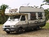Camper Mansardato, Burstner, su Iveco turbo dailly
