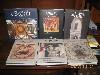 Collana di libri nuovi che illustrano la citt� di