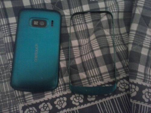 cover azzurra per smartphone alcatel one touch 918