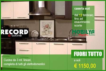 Dal 12 febraio Cucine da Record da Mobilya Megasto - Caserta ...