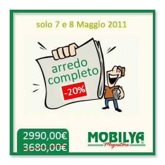 Da mobilya megastore arredamento completo a soli for Mobilya megastore offerte